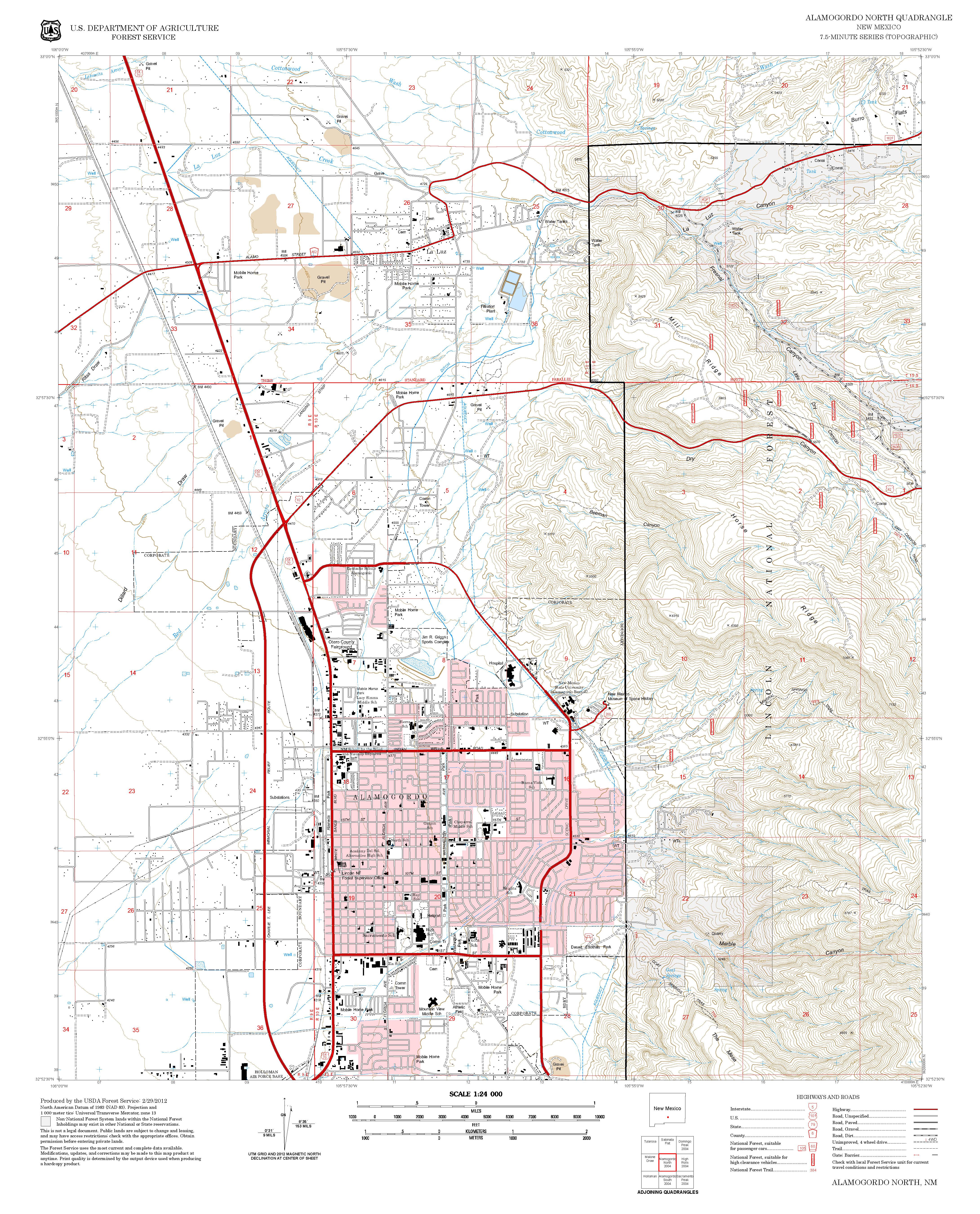 Mineral Springs Trail Sacramento Ranger District